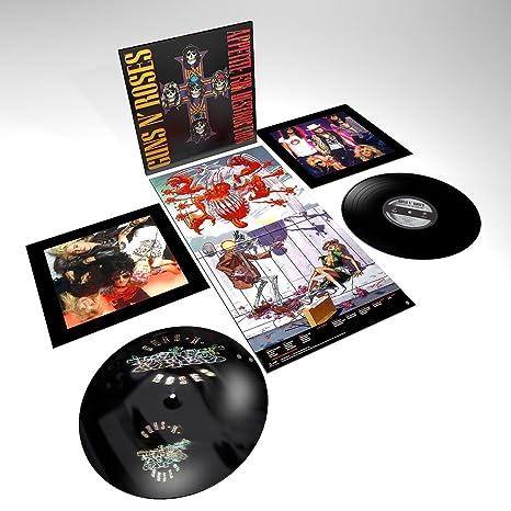a0638e817 Guns N  Roses - Appetite For Destruction  2 LP  - Amazon.com Music