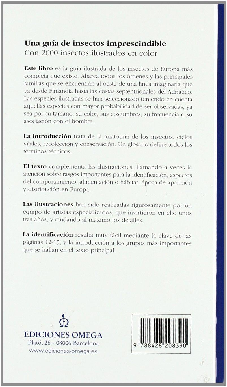 Amazon.com: Guía de los insectos de Europa (9788428208390 ...
