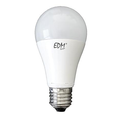BOMBILLA STANDARD LED 15W E27 6.400K LUZ FRIA EDM. Mejor precio garantizado