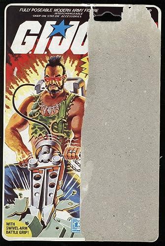 Amazon.com: G I Joe ARAH Ripper Full 34 Back Backer Card ...