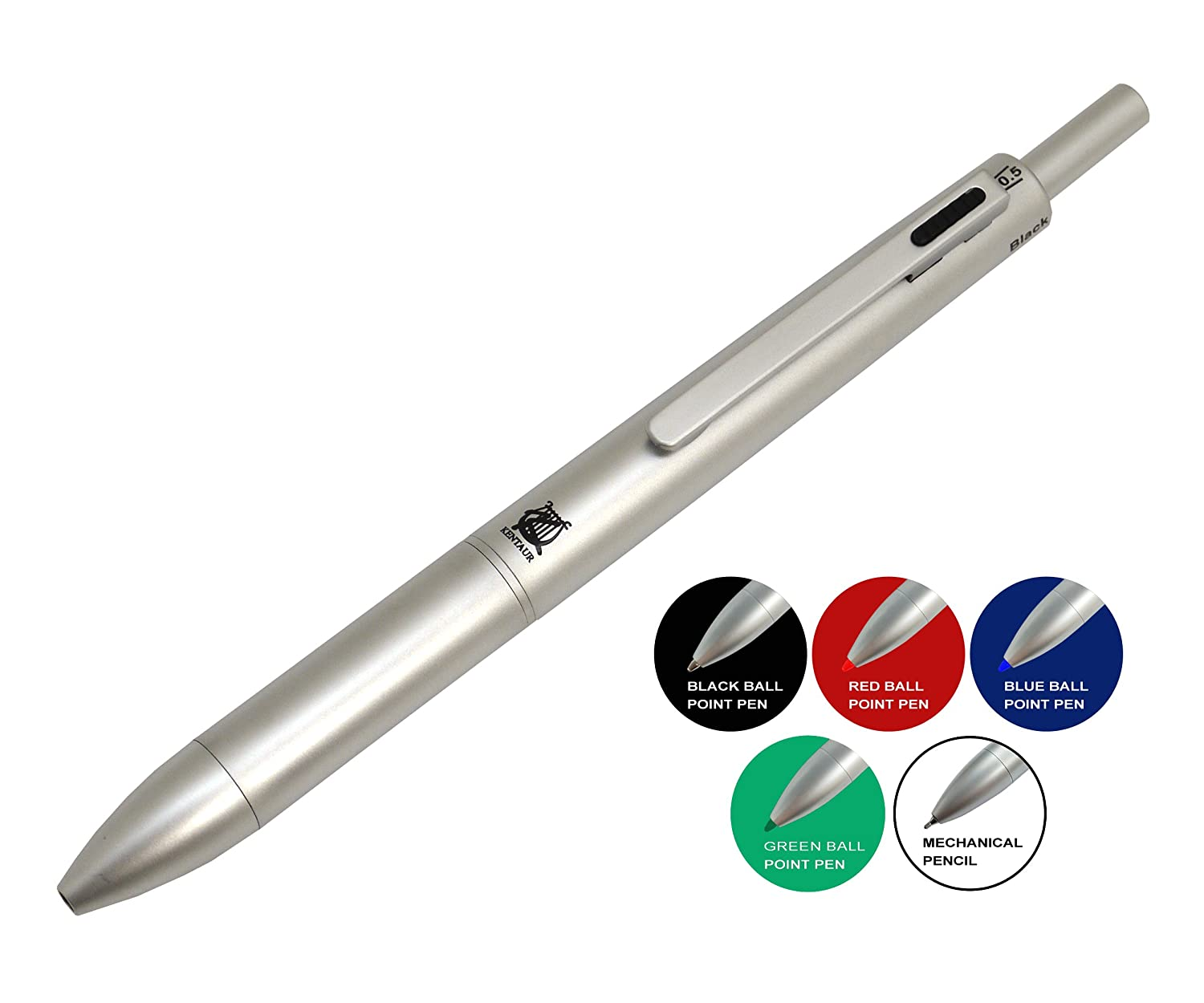 Relatively Amazon.com : Multifunction Pen - FI-5019_5 In 1 Mechanical Pencil  BZ72