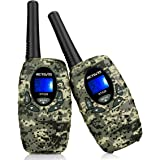 Retevis RT628 VOX UHF Portable 8 Channel FRS Kids Walkie Talkies (Camouflage)