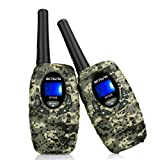Amazon Price History for:Retevis RT628 Camouflage Kids Walkie Talkies Outdoor Toy for Kids 0.5W License-free FRS 22CH 2 Way Radio for Kids(1 Pair)