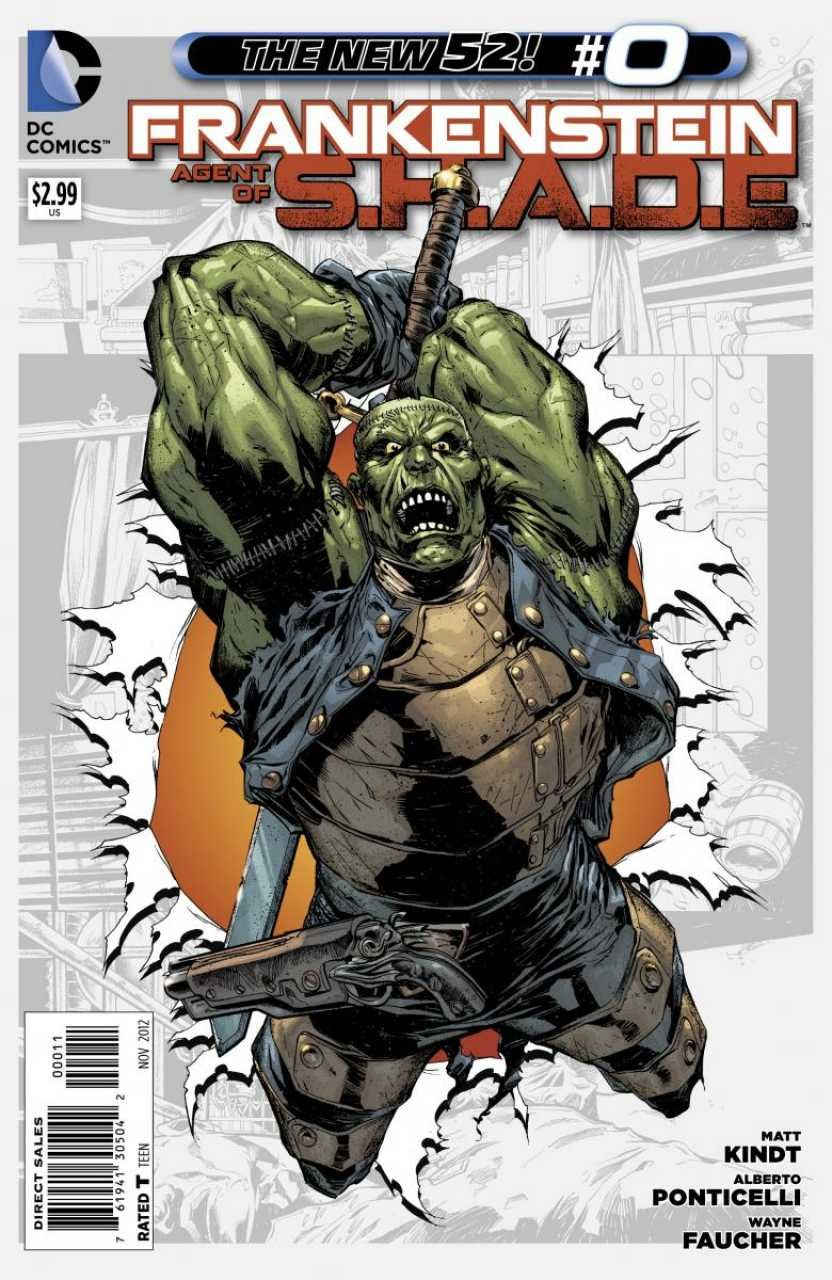 """Download Frankenstein Agent of Shade #0 """"Learn How Frankenstein Was Recruited By S.h.a.d.e."""" PDF"""