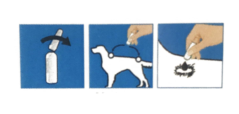 BPS Pipetas Repelentes Material Naturales para Perros Gatos Mascotas Anti Ácaros Pulgas Garrapatas Insectos Voladores Parásitos y Parasital (Pipetas Gato) ...