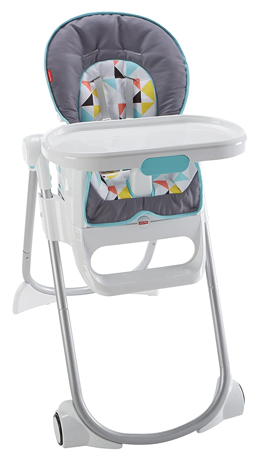 Fisher-Price 4-in-1 Total Clean High Chair - Geometric Amazonca/FISNE DRF20