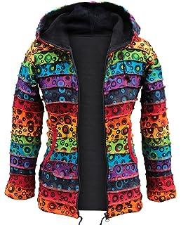 Shopoholic Fashion Mujer Coloridos burbuja Chaqueta de invierno