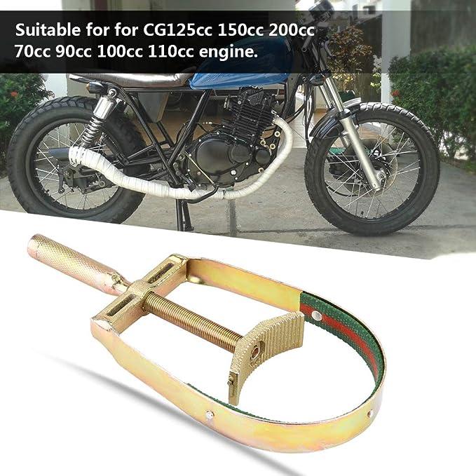 Schwungrad Kupplungsschl/üssel Fydun Universal Motorrad Freilauf Kettenschl/üssel Motor Schwungrad Kettenrad Entferner Werkzeuge