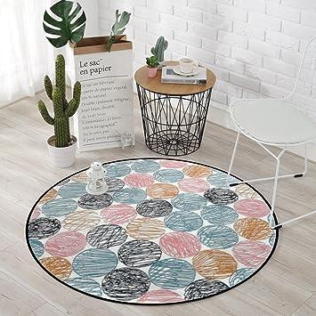 Xi Man Shop Runder Teppich Einfacher Gemutlicher Teppich