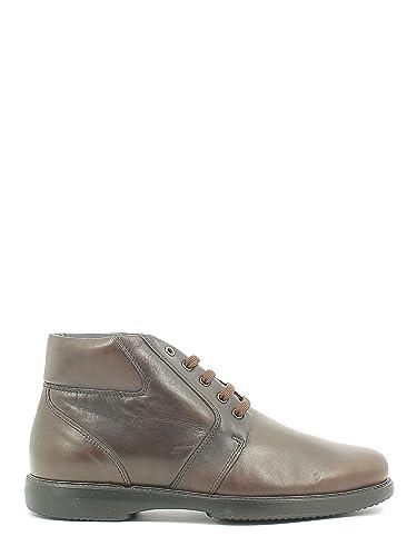 Fontana 5678 V Chaussures classiques Man Noir Noir - Chaussures Boot Homme