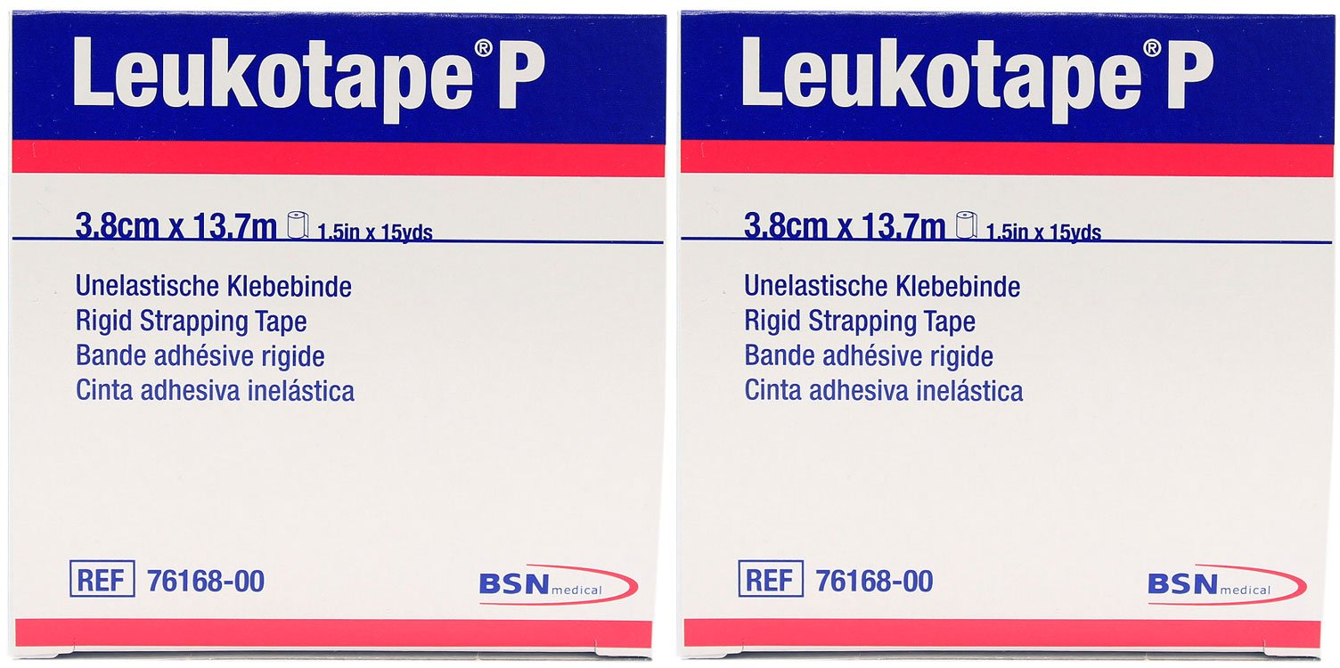 Leukotape P Sports Tape - 1.5'' x 15 Yards - Pack of 2
