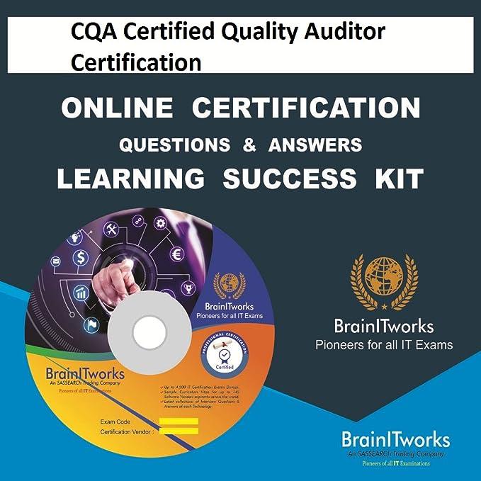 Großzügig Cqa Certification Bilder - zertifizierungsstelle ...