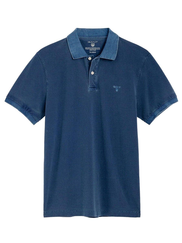 Brand Size 3XL GANT Men's 19012052028423 blueee Cotton Polo Shirt