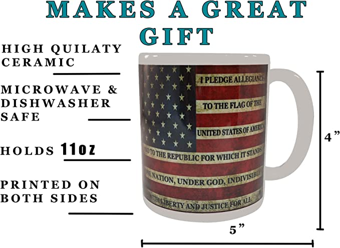 Details about  /Goede Family American Flag Gift Coffee Mug