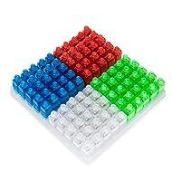 Kohree LED Finger Lights Light up Toys Party Favor Supplies,100 pcs Finger Flashlights (Assorted Color)
