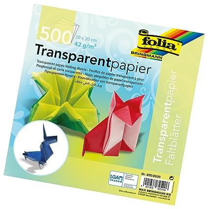 Amazon Global Art Materials Folia Semi Transparent Origami