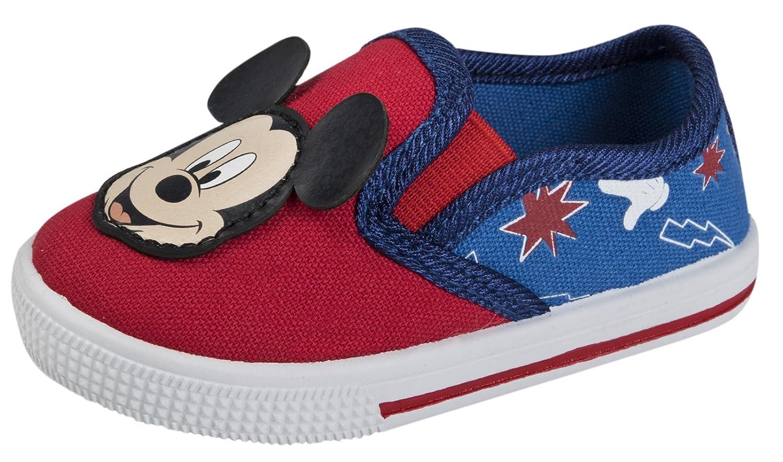 d39a9d594a1 Disney Mickey Mouse Canvas Pumps Trainers  Amazon.co.uk  Shoes   Bags