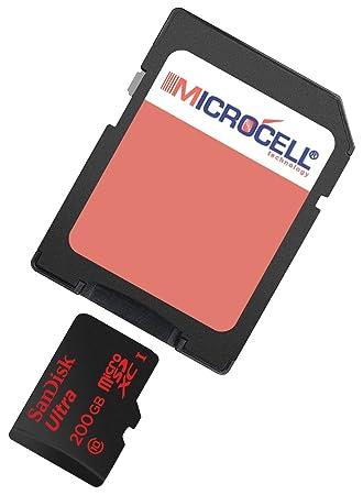 Yayago Microcell - Tarjeta de memoria SD 200 GB/200 GB ...