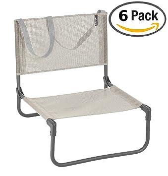 Lafuma Chaise Basse De Camping Pliable CB Batyline Couleur Seigle