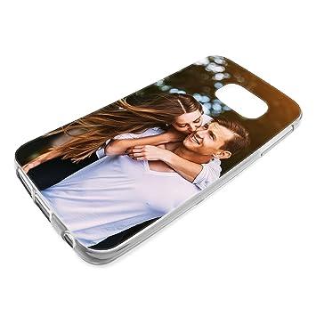 Personalisierte Premium Foto Handyhülle Für Samsung Galaxy Serie Selbst Gestalten Mit Foto Bedrucken Handy Samsung Galaxy S7 Hülle Slim Silikon