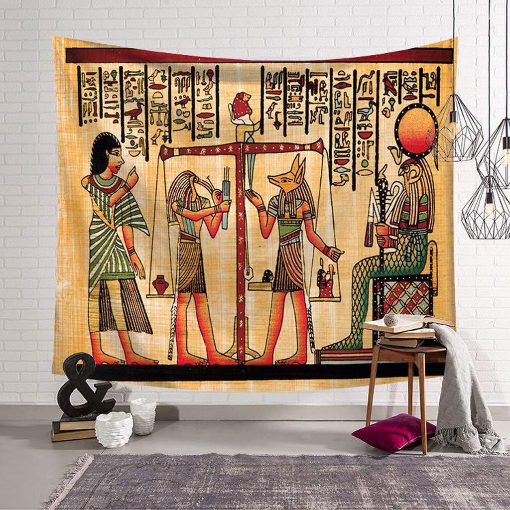 SMBYLL Antiguo Egipcio Colgante de Pared 3D Visual Antiguo ...