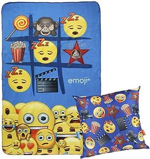 Cerdá 2200002431 Emoji Nierenwärmer, Blau (Azul 04), One Size (Herstellergröße: Única)