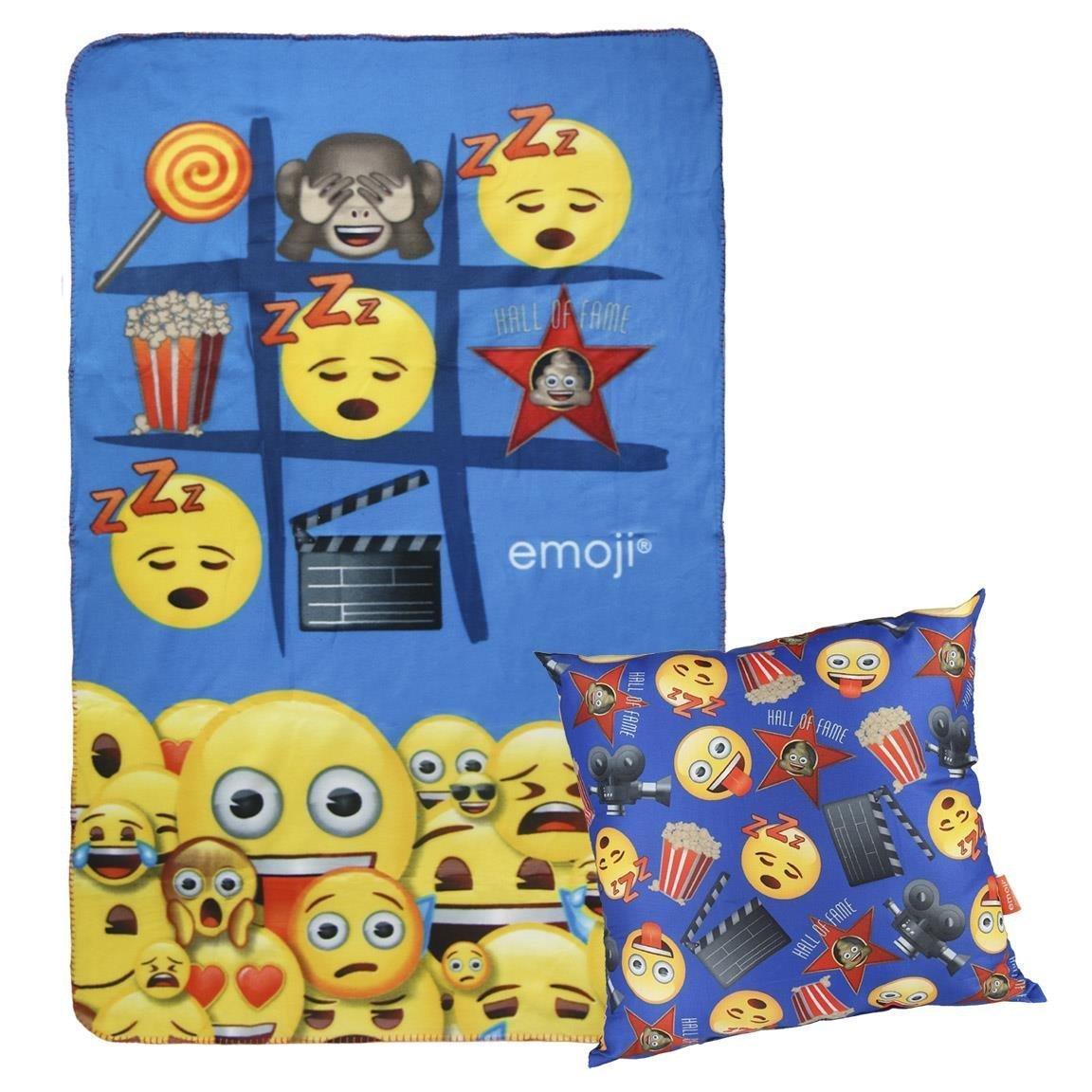 Cerdá Jungen Nierenwärmer Emoji, Blau (Azul 04), One Size (Herstellergröße: Única) 2200002431
