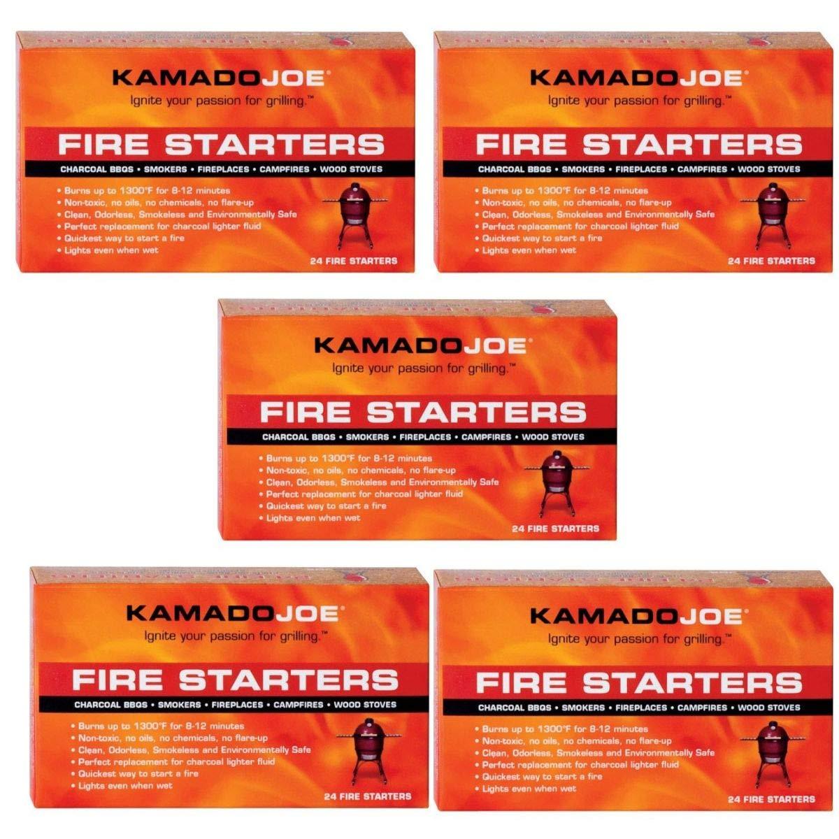 Kamado Joe KJFS Fire Starters, 24-Count (Fire Starters (120-Count))