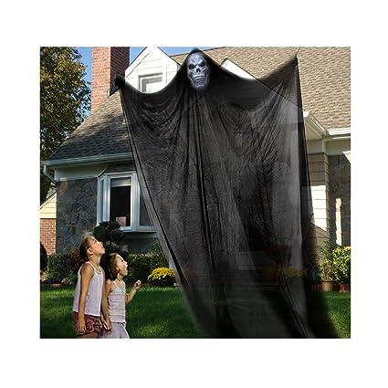 GuLute Halloween Hanging Ghost Prop Scary Decor Halloween Skeleton Ghost  Skull Decorations for Outdoor Indoor bar - Amazon.com: GuLute Halloween Hanging Ghost Prop Scary Decor