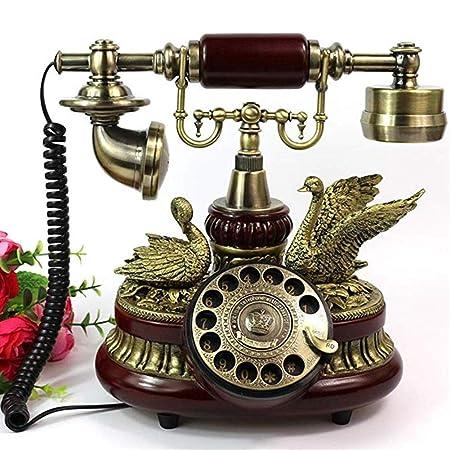 Wired telephone Gjrff Teléfono con Cable De Gama Alta ...