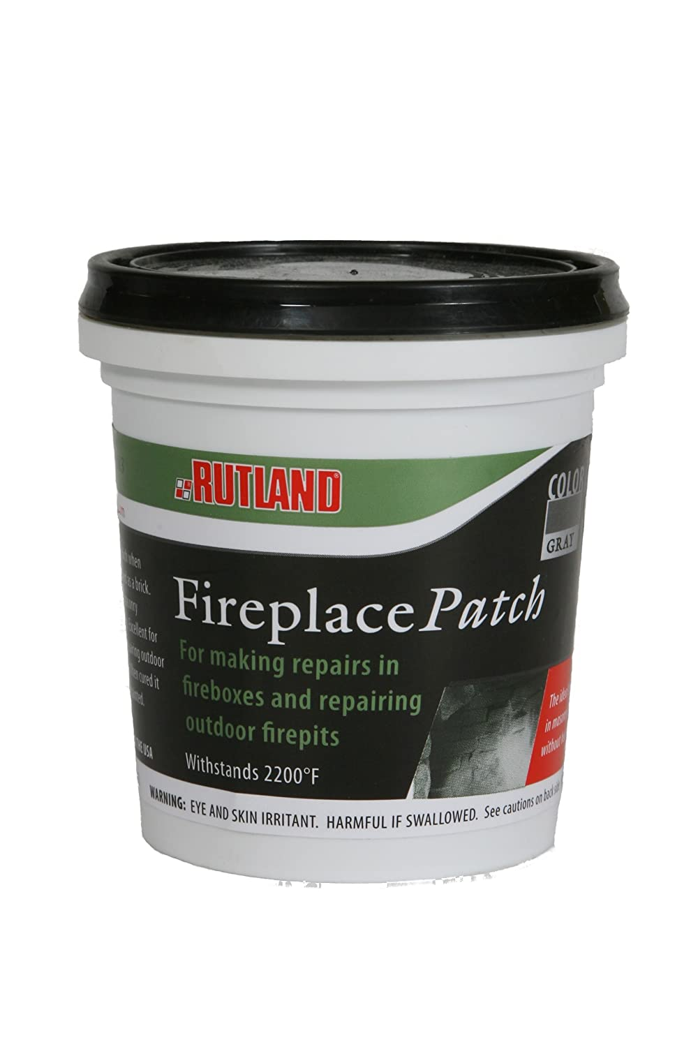 Rutland Products Fireplace Patch, Putty Grey, 1.5 lbs 62