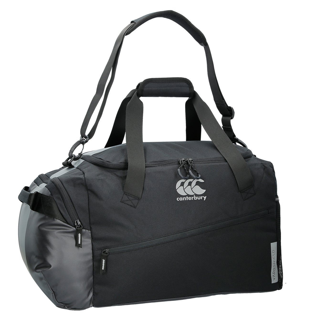Amazon.com  Canterbury 2018 Mens VapoShield Medium Sports Bag Gym Holdall  Black  Sports   Outdoors 62c41d3d343ea