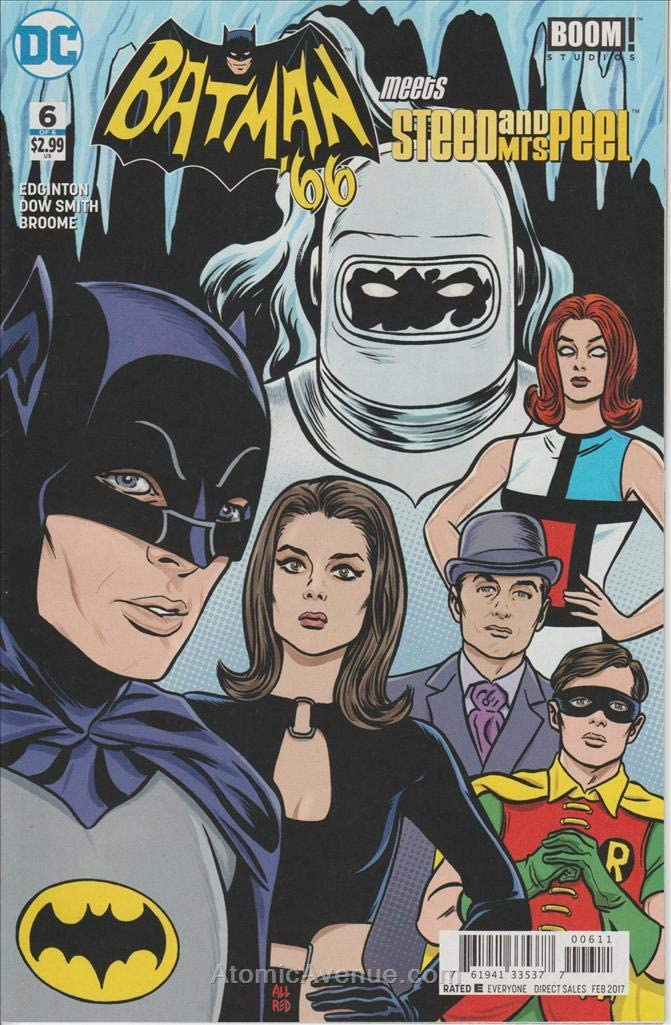 Batman 66 Meets Steed And Mrs Peel TP DC COMICS