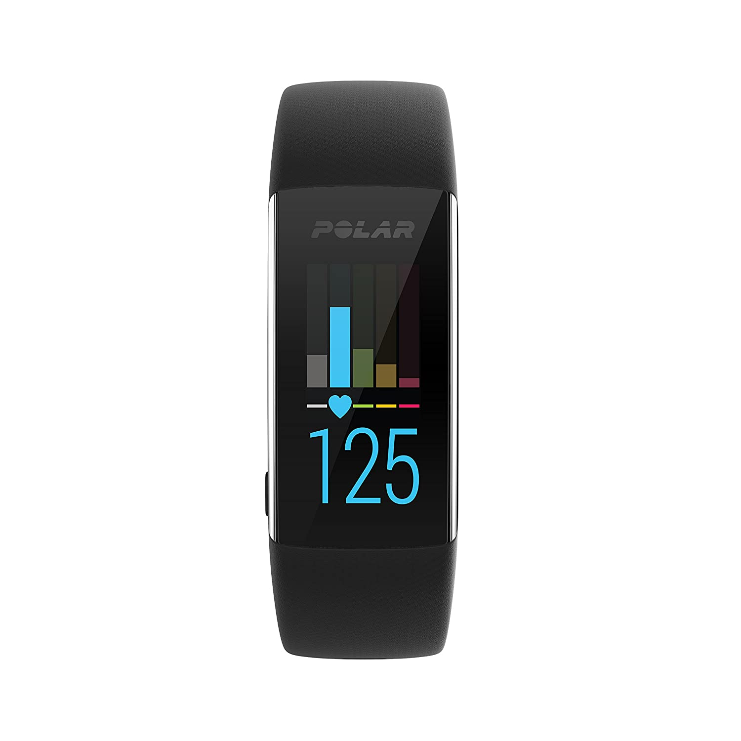Polar A370 Activity Tracker per Fitness, Monitoraggio Attività Fisica con Cardiofrequenzimetro Integrato, Display Touch Screen Unisex - Adulto