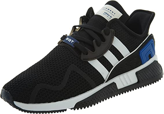 adidas Mens EQT Cushion Adv Lace Up Sneakers Shoes Casual - Black