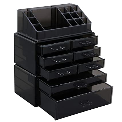 Amazoncom SONGMICS Makeup Organizer 8 Drawers Cosmetic Storage 3
