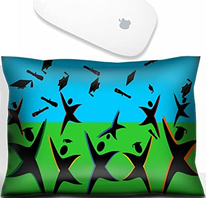 da3a72da89 Luxlady Mouse Wrist Rest Office Decor Wrist Supporter Pillow Graduates  jumping for joy and turning heads