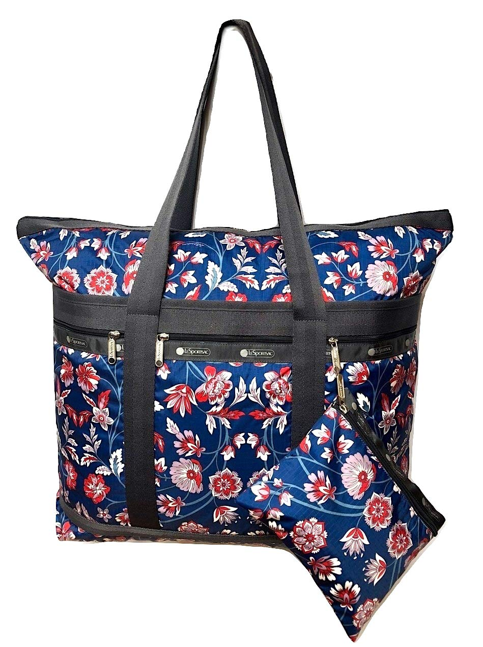 LeSportsac Blissful Vision Travel Tote + Matching Cosmetic Bag