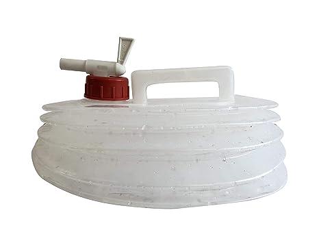 Melchioni 380004009 Bidón Agua con Fuelle Plegable de 8 L