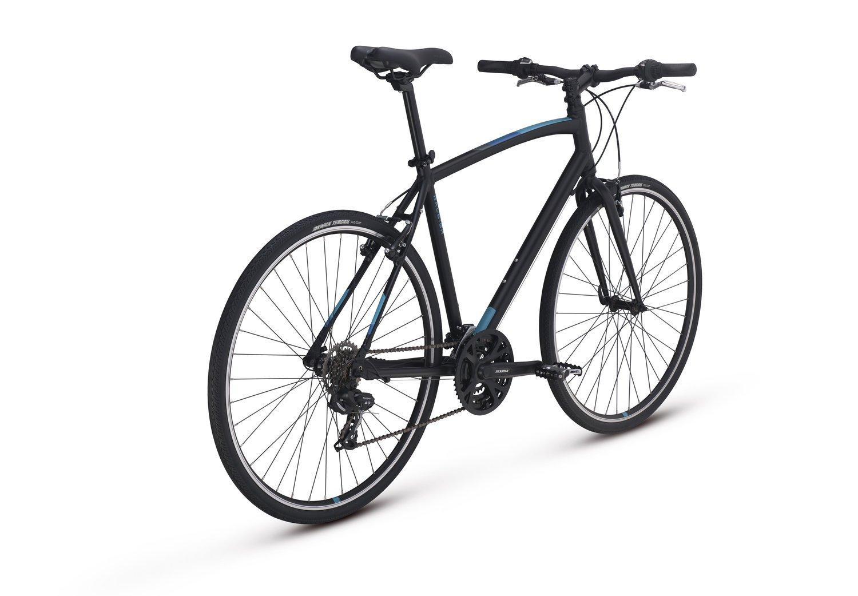 Raleigh Bikes Cadent 1 Fitness Hybrid Bike 15'' Frame, Black by Raleigh Bikes (Image #3)