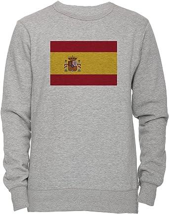 España Nacional Bandera Unisexo Hombre Mujer Sudadera Jersey ...
