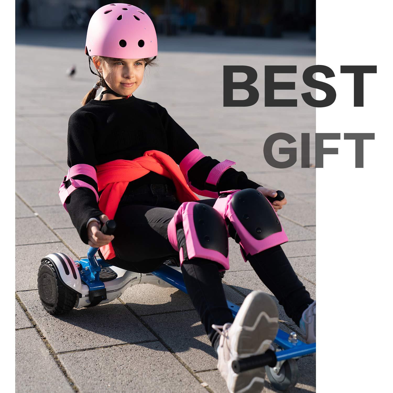 Toutes hauteurs avec Si/ège /à suspension arri/ère- Compatible avec tous les balance board Plus s/ûr pour les enfants Tous /âges Hoverkart- Go Kart Version Enfant pour Balance Boards balance board inclus
