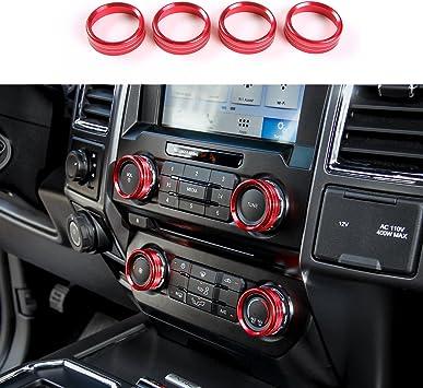 Interior Air Condition AC Control Knob Switch Trim For Toyota Highlander 15-2018