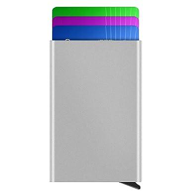 Amazon.com: Hopehug RFID - Funda para tarjetas de crédito ...
