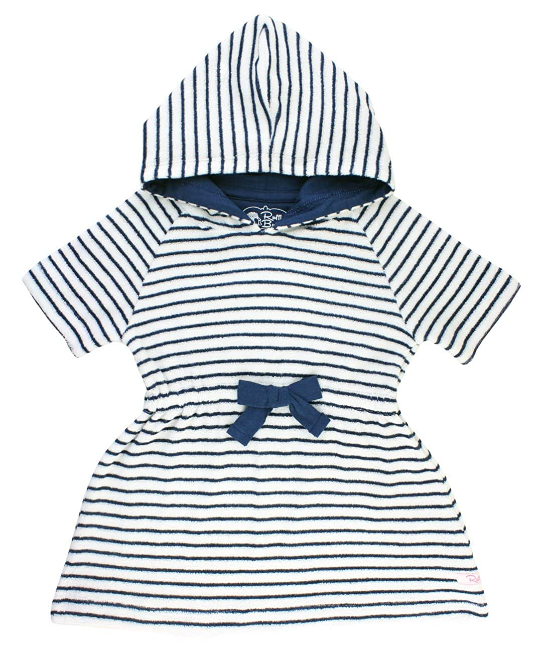 fd58ea104c343 Our customer favorite girl\'s terry cover-up is back and in the cutest  nautical stripes! The soft terry fabric and cozy hood will keep your little  one warm ...
