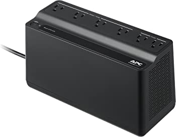 APC 425 VA 255 Watts 6 Outlets Power Supply
