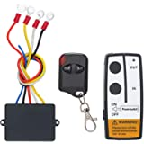 SEDRITENT Wireless Winch Remote Control Kit for Truck Jeep SUV ATV 12V-24V 50ft Switch Handset