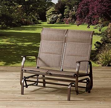Garden Rocker Outdoor Chair 2 Seater Pagoda Inca Deluxe Double Rocker