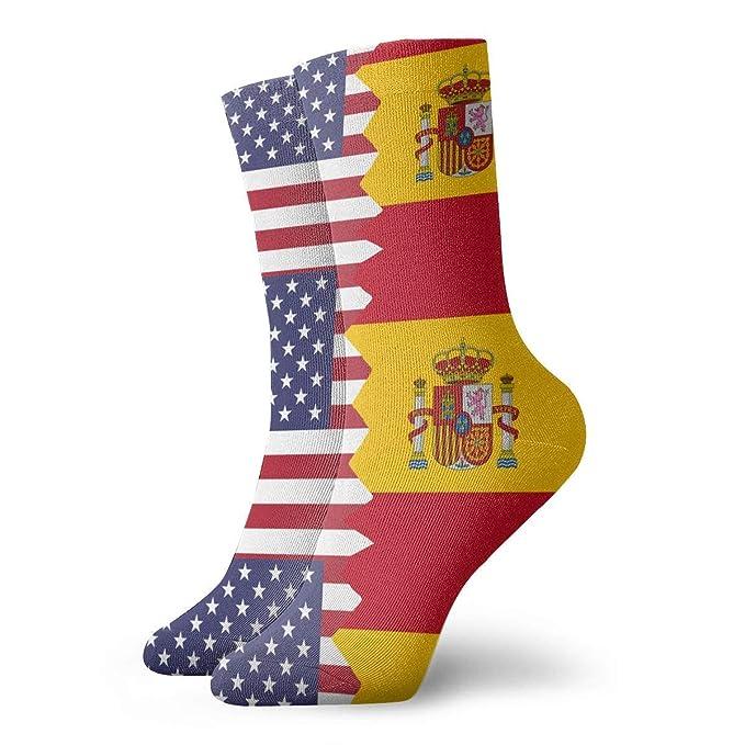 Medias americanas de la bandera de España del vintage Calcetines ...