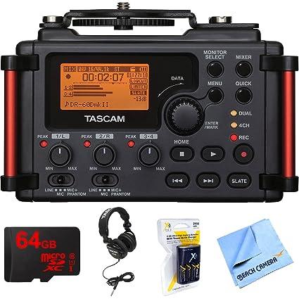 Amazon.com: Tascam grabadora portátil para cámaras réflex ...